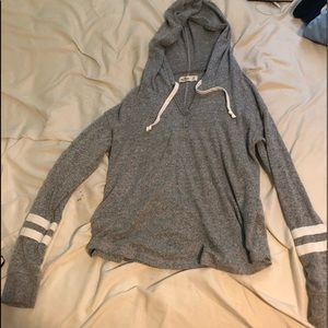 Grey Hollister sweatshirt